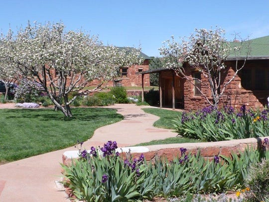 The Sedona Heritage Museum occupies an old homestead