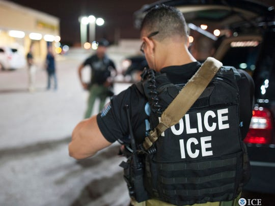 Member of the U.S. Immigration and Customs Enforcement's