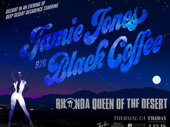 Poster for Rhonda: Queen of the Desert.