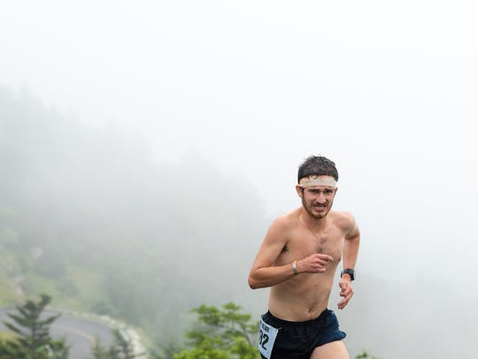 Michael Holland, 21, of Beech Mountain, was the overall