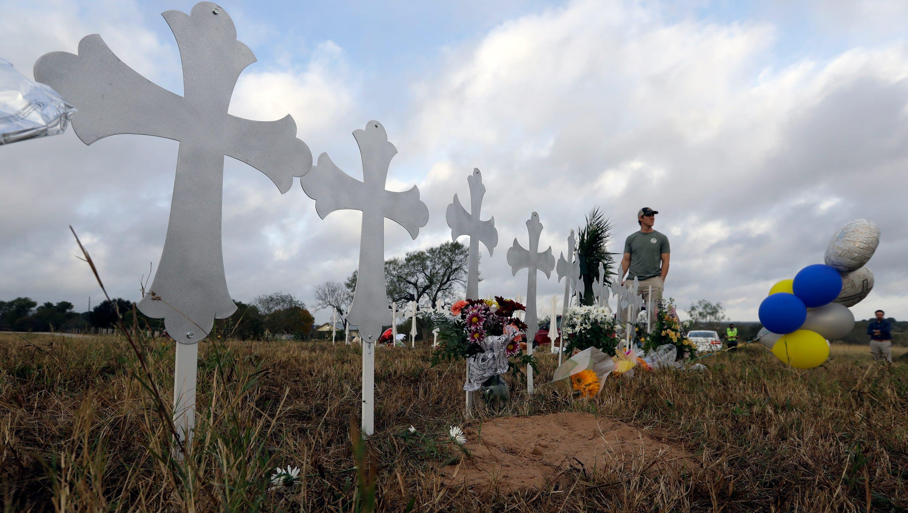 Texas shooting: Inside the church, gunman fired at crying children