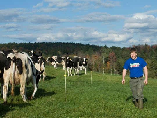 Andy Birch is an example of a young farmer who is making
