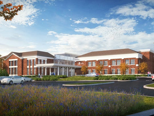 An artist rendering of the new YMCA branch in Pittsford