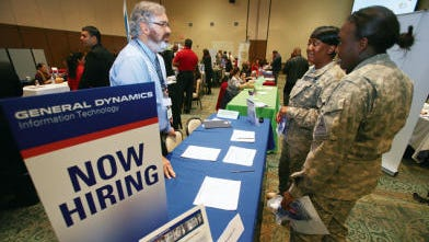 San Angelo will play host to a Hiring Red, White & You job fair for veterans. A Red, White & You job fair at Fort Bliss in 2014 drew about 400 people.