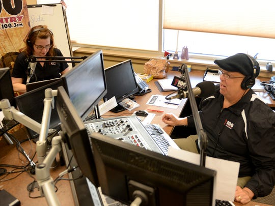 Bear and Charli seamlessly blend daily life into their weekday morning show at country station WNCY (100.3 FM).