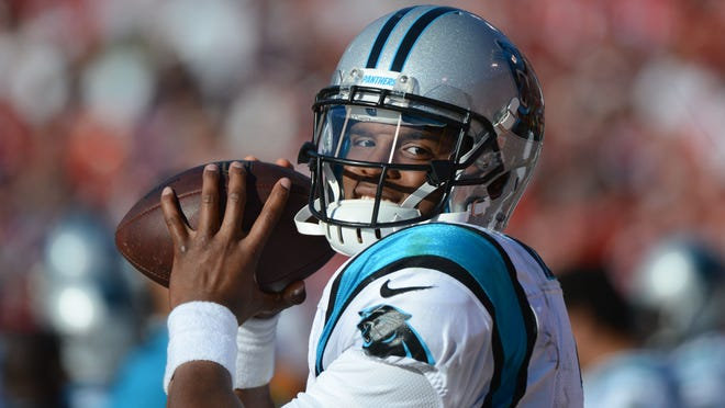 Cam Newton is 19-22 since joining the Panthers as the first overall pick but has won five in a row.
