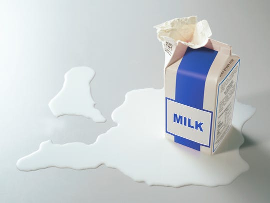 A new study from Emory University analyzed 69 samples of milk from different regions around the country.