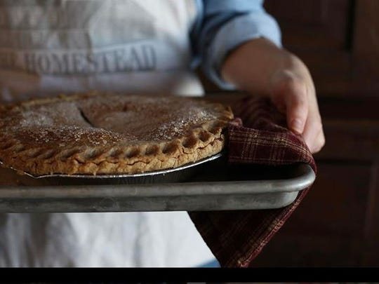 The Homestead offers a selection of frozen and fresh baked pies.