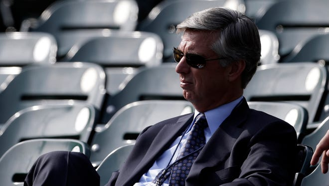 Former Tigers general manager Dave Dombrowski