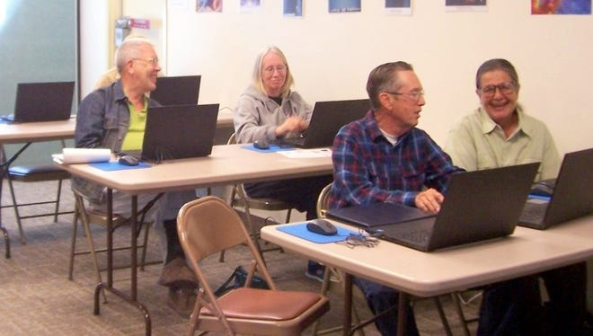 People are taking advantage of services being offered by the Silver City Public Library.