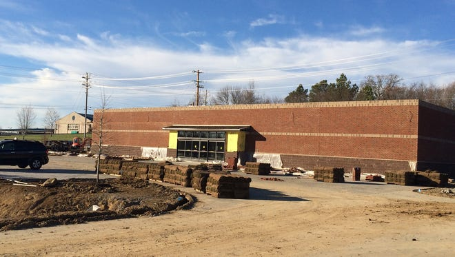 New Dollar General being built near at the corner of Beasley Drive and Cowan Road, near Walmart.
