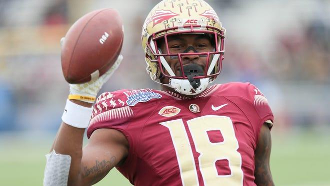 The Cincinnati Bengals selected Florida State Seminoles wide receiver Auden Tate in the 2018 NFL Draft.
