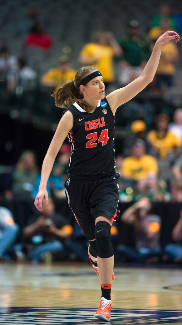 All-American guard Sydney Wiese leads Oregon State