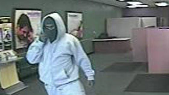 Lafayette police released this photo of a man who robbed the Check & Go store Wednesday, Oct. 29.