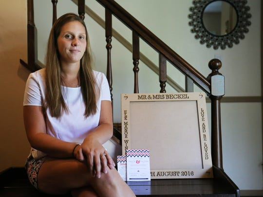 Stephanie Sieminski was given five days notice by her wedding venue, The Winery at Elk Manor, that the location was now closed. Sieminski had items, including custom frames, made with the venues name on it.