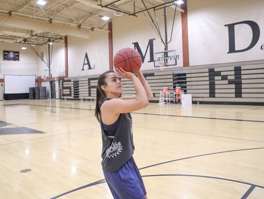 Xavier Prep assistant coach Kamille Diaz will soon