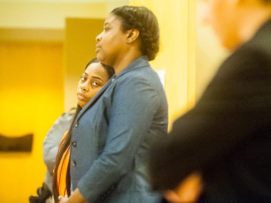 LaShanta McCrae, who is charged in connection to an