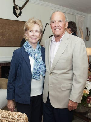 Susan and Peter Gottsegen at the Chamber Music Society of Palm Beach members' season kickoff cocktail reception in November.