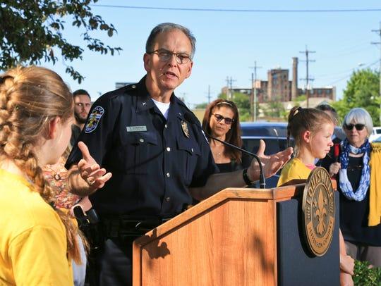 LMPD Chief Steve Conrad.