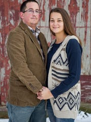Chris and Kelsey Snyder supported each other through Chris's two-month deployment to Monrovia, Liberia.