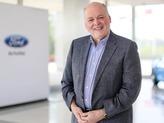 Jim Hackett, president and CEO, Ford Motor Company, is photographed at Ford World Headquarters in Dearborn in June 2017.