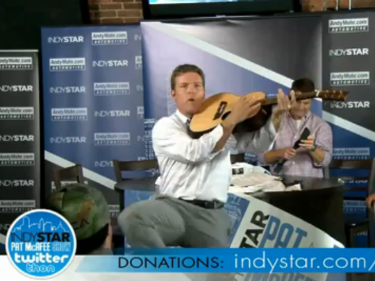 IndyStar Pat McAfee Show Twitterthon