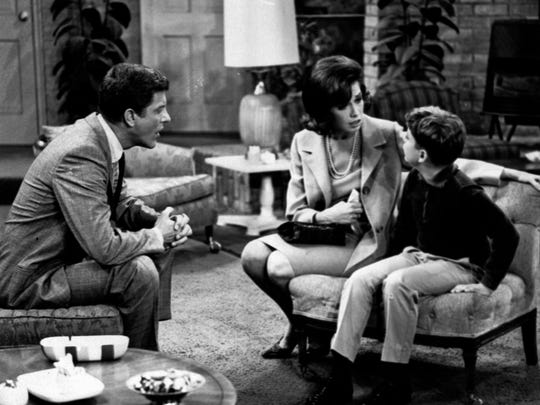 In this 1965 file photo, from left, Dick Van Dyke,
