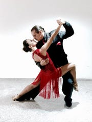 """Mayte Vicens brings Tango Night back to Roscoe's Room at Alvin & Friends with acclaimed tango dancers Antonio """"Junior"""" Cervila and Guadalupe Garcia on Feb. 19."""