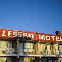 The LessPay Motel is located at the intersection of Cameron Street and University Avenue, also known as Four Corners.