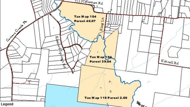 Thompson's Station Board of Mayor and Aldermen will likely vote to rezone 687 acres of land to allow for a mixed-use community called Two Farms.