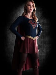 First look at Melissa Benoist as Supergirl.