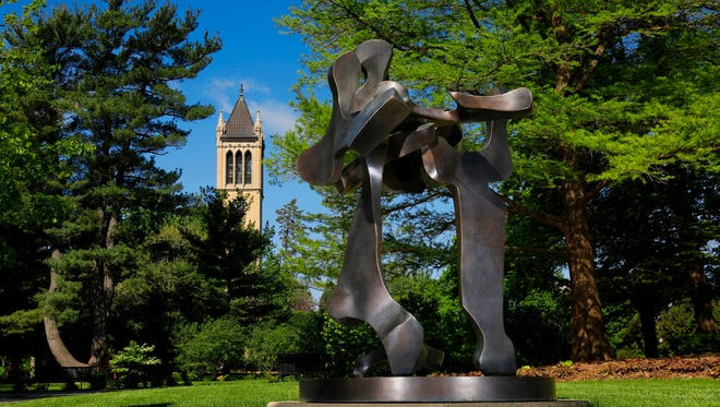 The Art on Campus collection at Iowa State University is one of the largest public-art collections on any school campus in the United States.