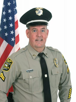 Northern York County Regional Police Cpl Jeffrey Foust was given the Life Saving Award.