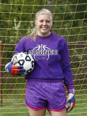 Mosinee keeper Claire Nievinski enters the week with eight shutouts this spring.