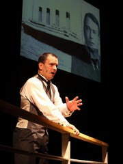 Robert Weaver portrays Thomas Andrews, who was in charge of the plans for Titanic at Harland & Wolff Shipbuilders.