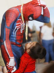 Spider-Man was a popular figure at Comic Con Palm Springs,