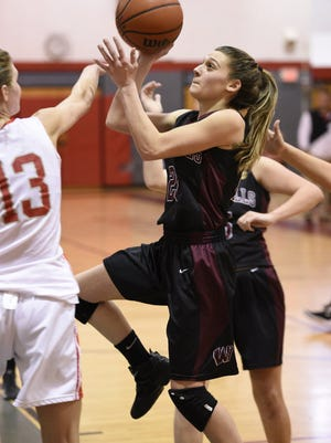 Amanda LaGuardia had 12 points and four rebounds as Wayne Hills defeated West Milford.