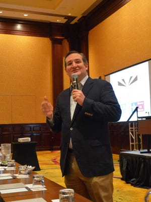File photo - U.S. Senator Ted Cruz, R-Texas, addressed representatives of the agriculture industry at the Southwest Ag Issues Summit in Fort Worth.