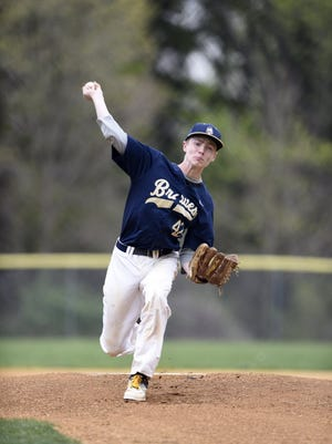 Jake Ursillo has stood out on the mound for Indian Hills.