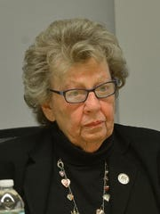 State Senate Majority Leader Loretta Weinberg
