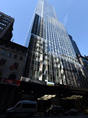 The skyscraper at 157 West 57th St. is one of the large