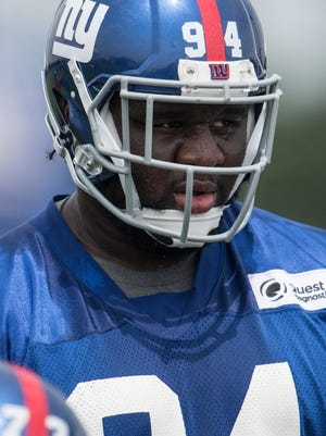 Giants rookie defensive tackle Dalvin Tomlinson is ready to make his pro debut in Friday's preseason opener against the Steelers in East Rutherford, N.J.