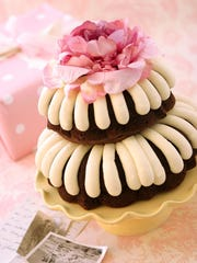 Nothing Bundt Cakes sells a tiered Bundt cake and offers fanciful decorations.