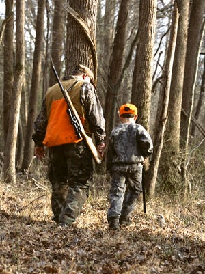 Hunting is allowed nearly everywhere within the National Forests in North Carolina, which includes Bent Creek. The N.C. Wildlife Resources Commission reminds hunters and forest users to wear blaze orange during hunting season.