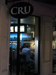 Even though it's a place to see and be seen, Cru is not pretentious