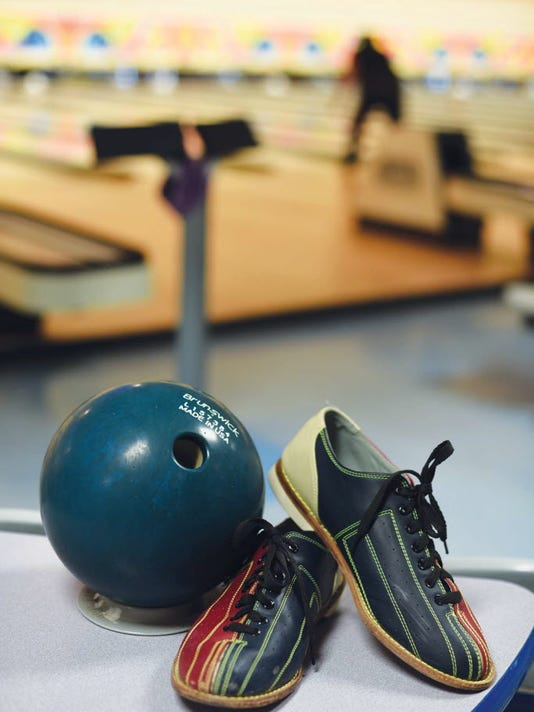 Bowling stock photo