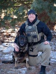 Vanderburgh County Sheriff's Deputy Bryan Bishop and