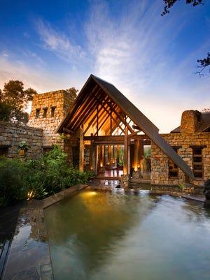 Tsala lodge in Western Cape, South Africa.