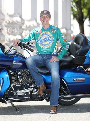 Kyle Petty, above, will bring his Kyle Petty Charity Ride Across America through York County on Wednesday, May 9.