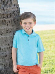 Alex Beirne, 6, of Indialantic is the May SCP Child